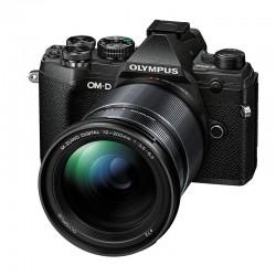 OLYMPUS OM-D E-M5 MARK III NOIR + Objectif 12-200mm f/3.5-6.3 Micro 4/3 Noir Garanti 3 ans