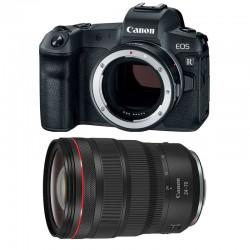 CANON EOS R + RF 24-70mm f/2.8 L IS USM Garanti 3 ans + bague EF-EOS R