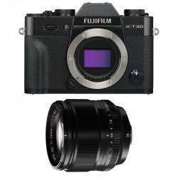 FUJIFILM X-T30 NOIR + 56mm f/1.2 Garanti 3 ans