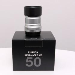Occasion FUJIFILM XF 50mm f/2 R WR SILVER