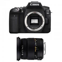 CANON EOS 90D + SIGMA 17-50 F2.8 DC OS EX HSM Garanti 3 ans
