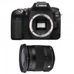 CANON EOS 90D + SIGMA 17-70 Contemporary Garanti 3 ans