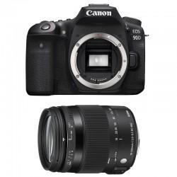 CANON EOS 90D + SIGMA 18-200 OS HSM Contemporary Garanti 3 ans