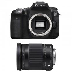 CANON EOS 90D + SIGMA 18-300 OS HSM Contemporary Garanti 3 ans