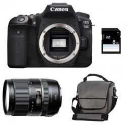 CANON EOS 90D + TAMRON 16-300mm VC PZD Garanti 3 ans + Sac + SD 8Go
