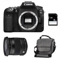 CANON EOS 90D + SIGMA 17-70 Contemporary Garanti 3 ans + Sac + SD 8Go
