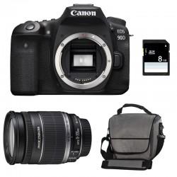 CANON EOS 90D + 18-200 IS Garanti 3 ans + Sac + SD 8Go