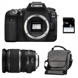 CANON EOS 90D + 17-55 IS USM Garanti 3 ans + Sac + SD 8Go