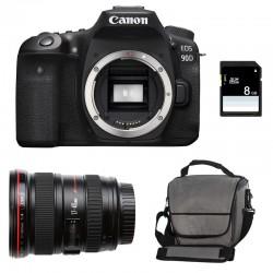 CANON EOS 90D + 17-40 L USM Garanti 3 ans + Sac + SD 8Go