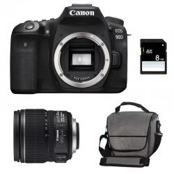 CANON EOS 90D + 15-85 IS Garanti 3 ans + Sac + SD 8Go