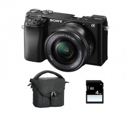 SONY ALPHA 6100 NOIR + 16-50 Garanti 3 ans + FT + SD