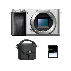 SONY ALPHA 6100 SILVER NU Garanti 3 ans + FT + SD
