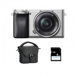 SONY ALPHA 6100 SILVER + 16-50 Garanti 3 ans + FT + SD