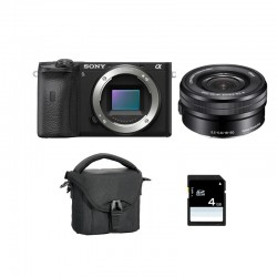 SONY ALPHA 6600 NOIR + 16-50 Garanti 3 ans + FT + SD