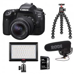 PHOTO-UNIVERS kit YOUTUBEUR REFLEX CANON 90D