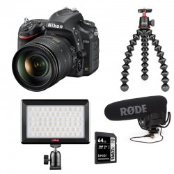 PHOTO-UNIVERS kit YOUTUBEUR REFLEX NIKON D750