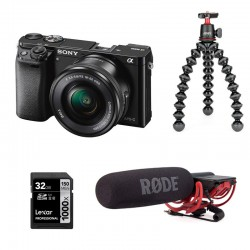PHOTO-UNIVERS kit YOUTUBEUR HYBRIDE SONY ALPHA 6000