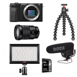 PHOTO-UNIVERS kit YOUTUBEUR HYBRIDE SONY ALPHA 6600
