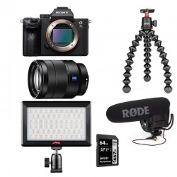 PHOTO-UNIVERS kit YOUTUBEUR HYBRIDE SONY ALPHA 7III