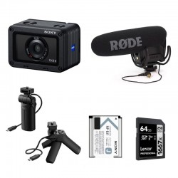 PHOTO-UNIVERS kit YOUTUBEUR DE VOYAGE SONY RX0 II