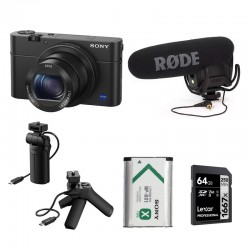 PHOTO-UNIVERS kit YOUTUBEUR DE VOYAGE SONY RX100 IV