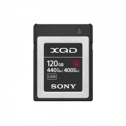 SONY Carte XQD 120 Go High Speed R440/W400 - QDG120E-R