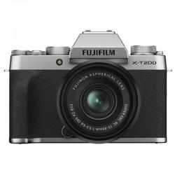 FUJIFILM X-T200 Silver + Objectif XC15-45 PZ Garanti 3 ans