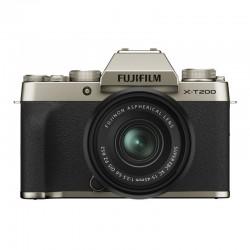 FUJIFILM X-T200 Gold + Objectif XC15-45 PZ Garanti 3 ans