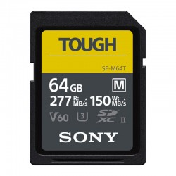 SONY Carte SD Tough 64 Go R150/W277