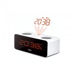 OREGON Radio - reveil projecteur RRA320P Blanc