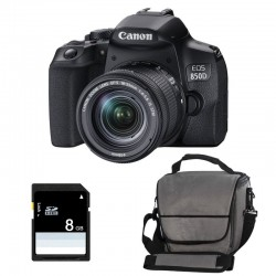CANON EOS 850D + 18-55 IS STM Garanti 3 ans + Sac + SD 4Go