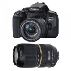 CANON EOS 850D + 18-55 IS STM + TAMRON 70-300 DI Garanti 3 ans