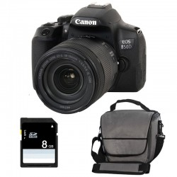 CANON EOS 850D + 18-135 IS STM Garanti 3 ans + Sac + SD 4Go
