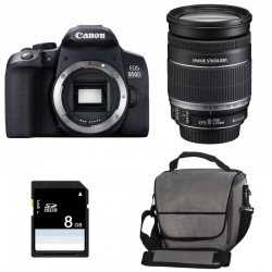 CANON EOS 850D + 18-200 IS Garanti 3 ans + Sac + SD 4Go