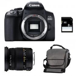 CANON EOS 850D + SIGMA 17-50 F2.8 DC OS EX HSM Garanti 3 ans + Sac + SD 4Go