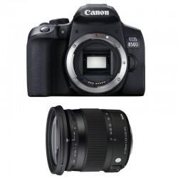 CANON EOS 850D + SIGMA 17-70 F2.8-4 DC Macro OS HSM Contemporary Garanti 3 ans