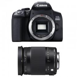 CANON EOS 850D + SIGMA 18-300 OS HSM Contemporary Garanti 3 ans