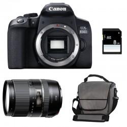 CANON EOS 850D + TAMRON 16-300mm VC PZD + Sac + SD 4Go
