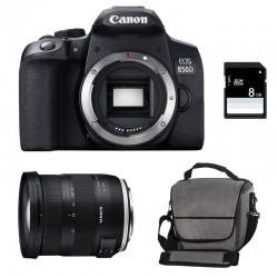 CANON EOS 850D + TAMRON SP AF 17-35 f/2.8-4 Di OSD Garanti 3 ans + Sac + SD 4Go