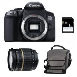 CANON EOS 850D + TAMRON SP AF 17-50 f/2.8 XR Di II LD Garanti 3 ans + Sac + SD 4Go