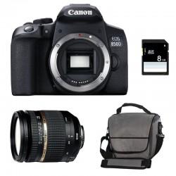 CANON EOS 850D + TAMRON SP AF 17-50 f/2.8 XR Di II VC LD Garanti 3 ans + Sac + SD 4Go