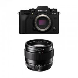FUJIFILM X-T4 NOIR + 23mm F1.4 Garanti 3 ans