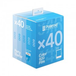POLAROID film couleur pour 600 - pack 40 photos