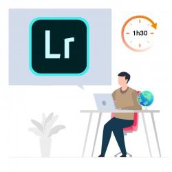 Formation en ligne Lightroom Découverte - 1h30