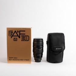 Occasion NIKON AF 80-400mm f / 4.5-5.6D ED VR