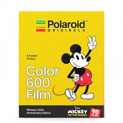 POLAROID Film Couleur pour 600 - Mickey's 90th Anniversary Edition