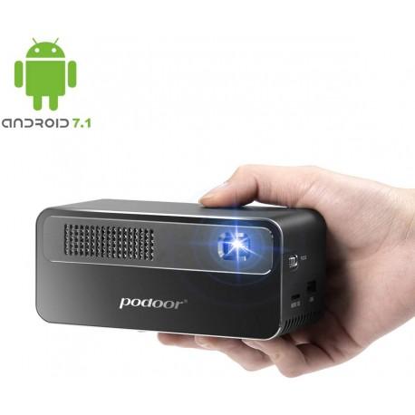 PODOOR Mini Vidéoprojecteur 250ANSI
