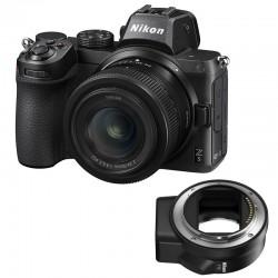 NIKON Z 5 +  24-50mm + Bague d'adaptation FTZ AF
