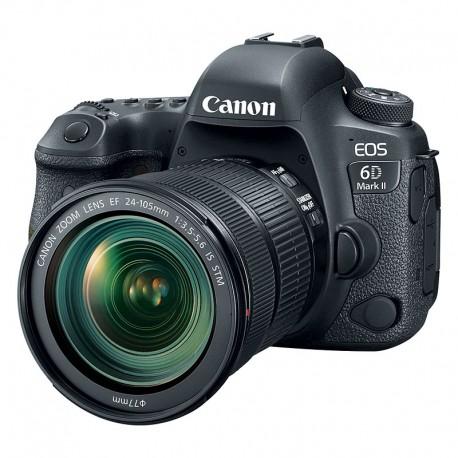 CANON EOS 6D MARK II + EF 24-105 f3.5-5.6 IS STM Garanti 3 ans