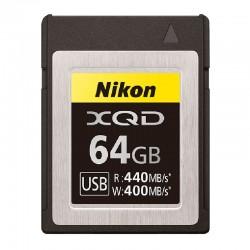 NIKON carte XQD 64Go R440/W400